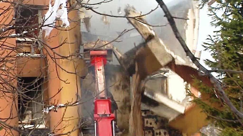 Požár ve Frenštátu pod Radhoštěm