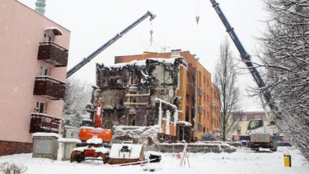 Demolice frenštátského domu