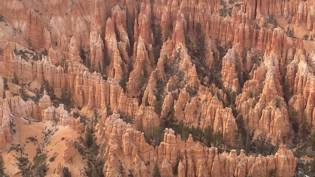 Pověstné věžičky v Bryce Canyonu