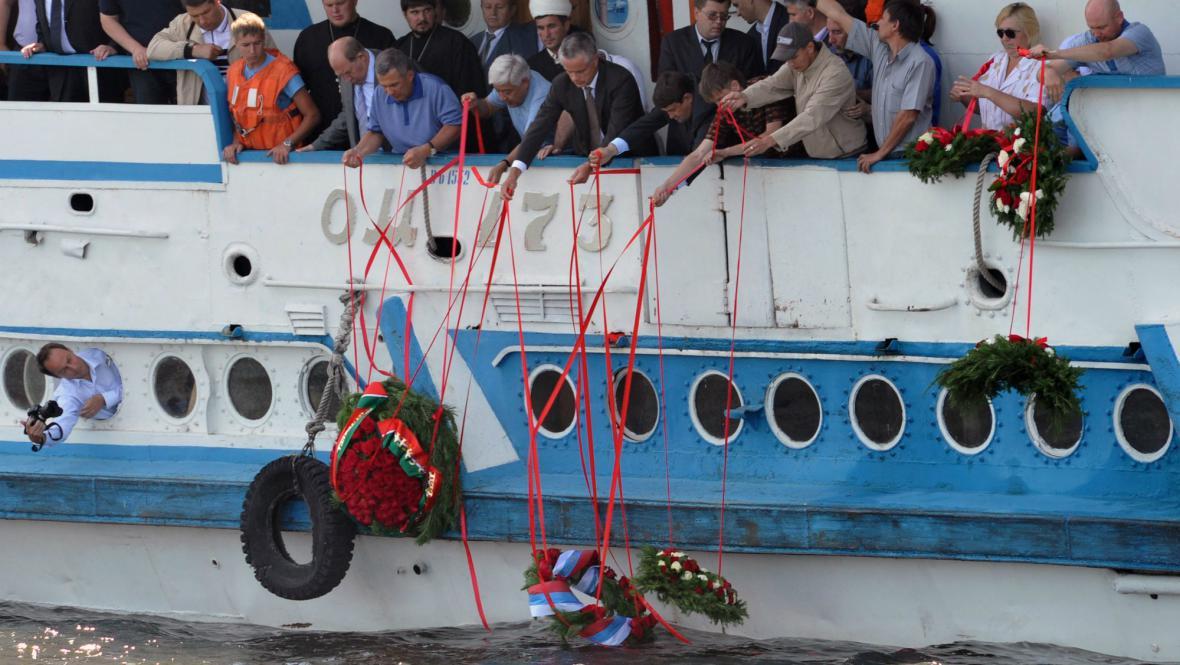 Pieta za oběti z potopeného parníku Bulgarija