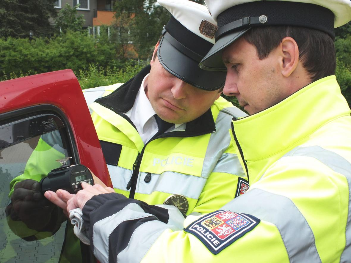 Z policejní akce v Boskovicích