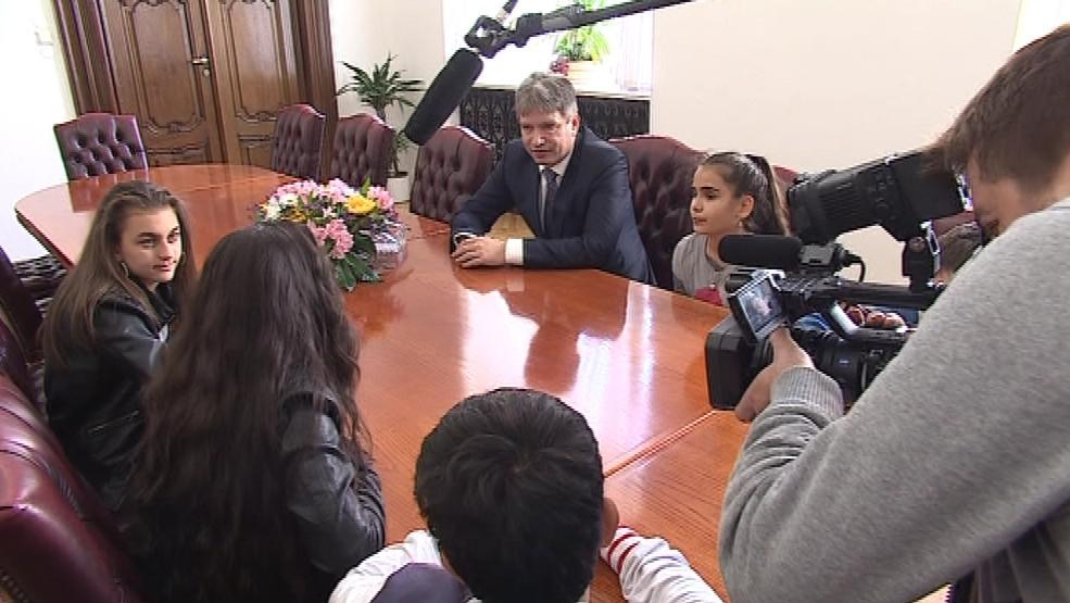 Setkání Ptáčat s primátorem Brna Romanem Onderkou