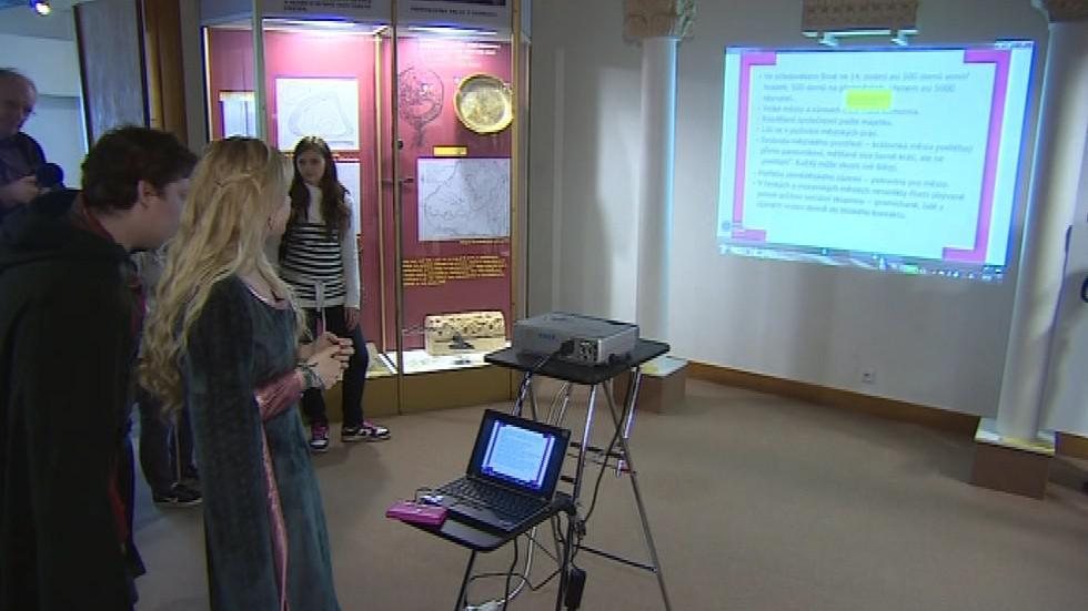 Interaktivní výuka o životě lidí ve středověku