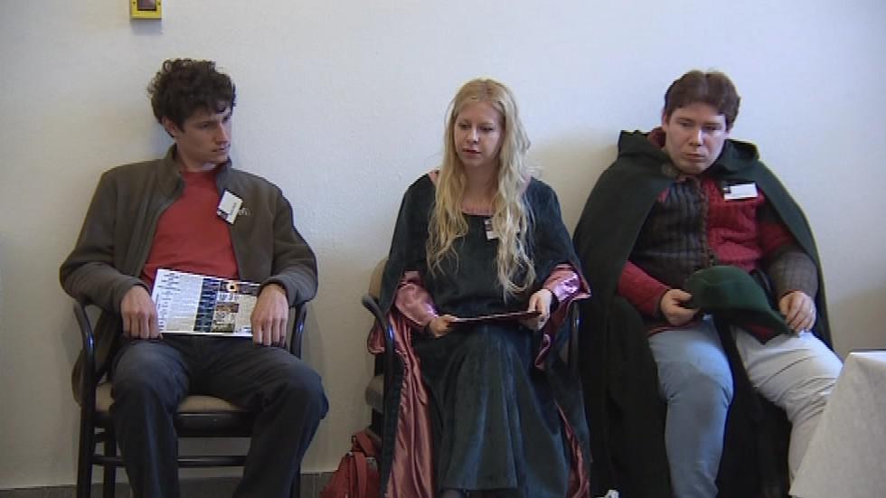 Trojice budoucích učitelů, kteří se do projektu Škola v muzeu zapojili