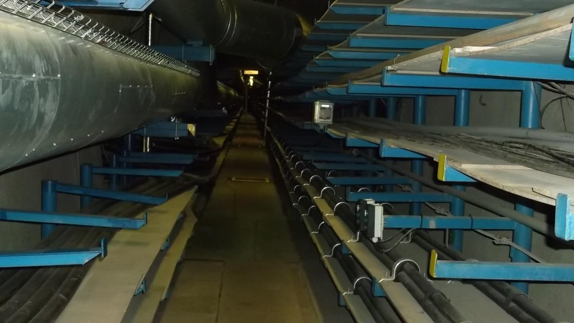 Oevření podzemních kolektorů