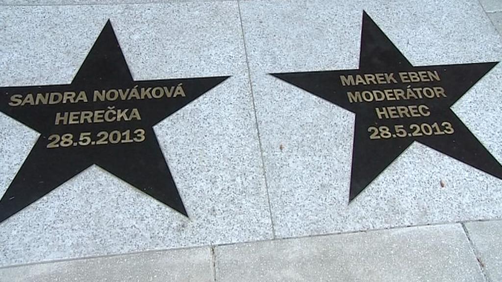 Hvězdy Sandry Novákové a Marka Ebena