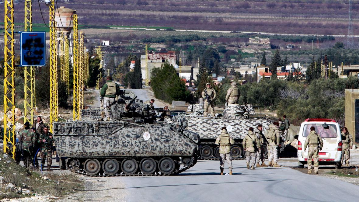 Libanonská armáda v Arsálu