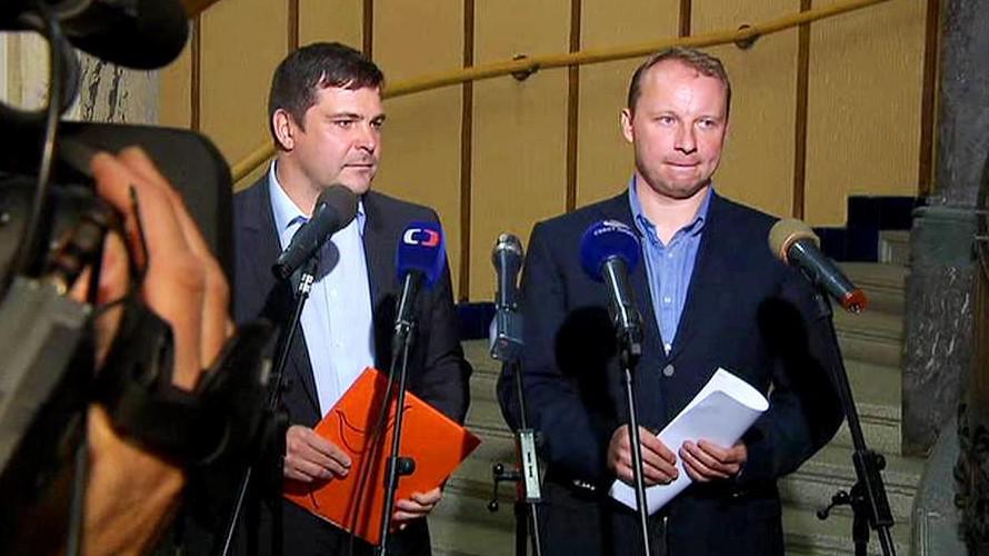 Karel Březina a Miroslav Poche