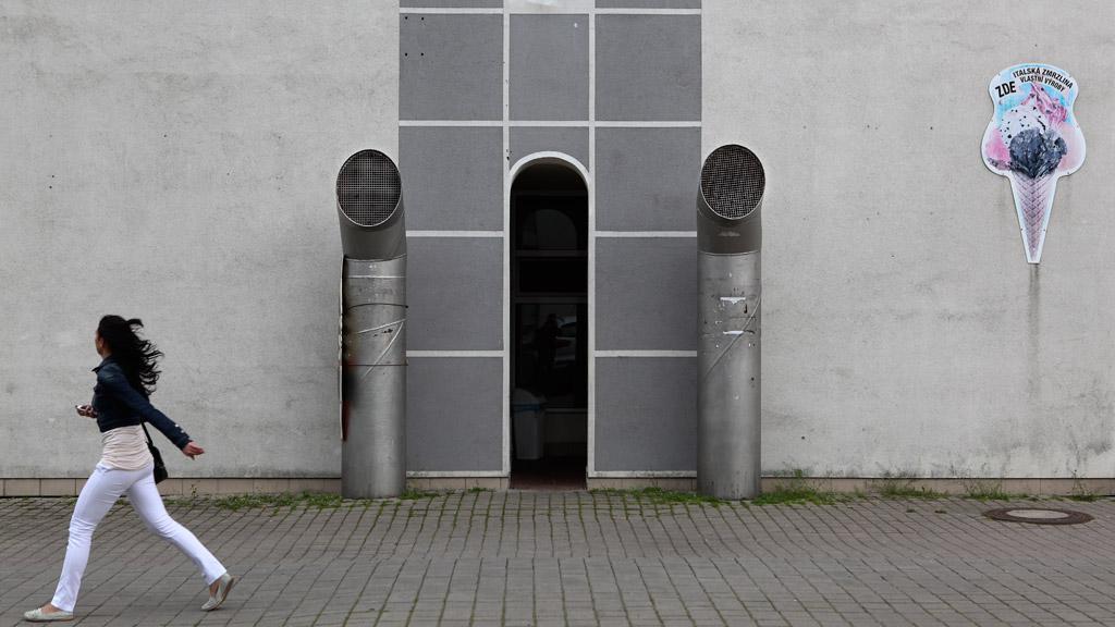 Sídliště Černý Most, kde se letos koná festival Street for Art