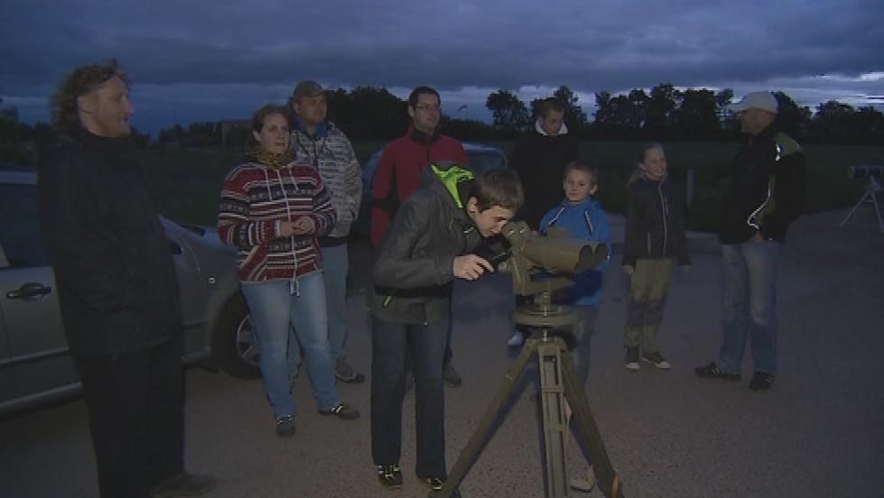 Pozorování světelného znečištění nad Znojmem