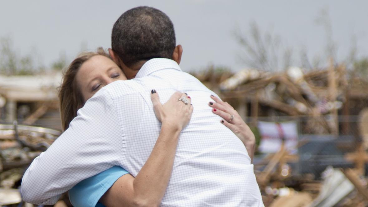 Barack Obama v Oklahomě
