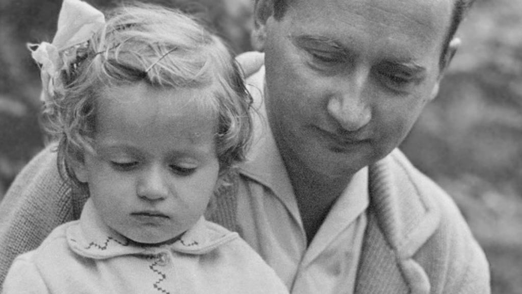 Generál Jaruzelski s dcerou