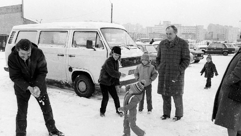Lech Walesa s dětmi
