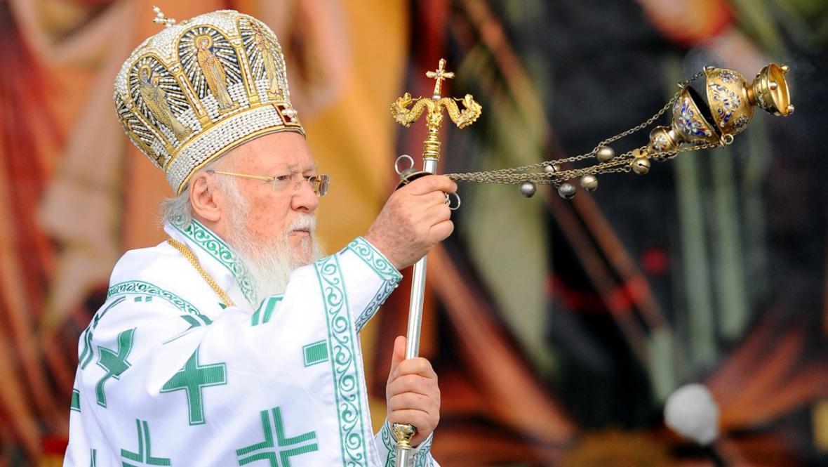 Konstantinopolský patriarcha Bartoloměj