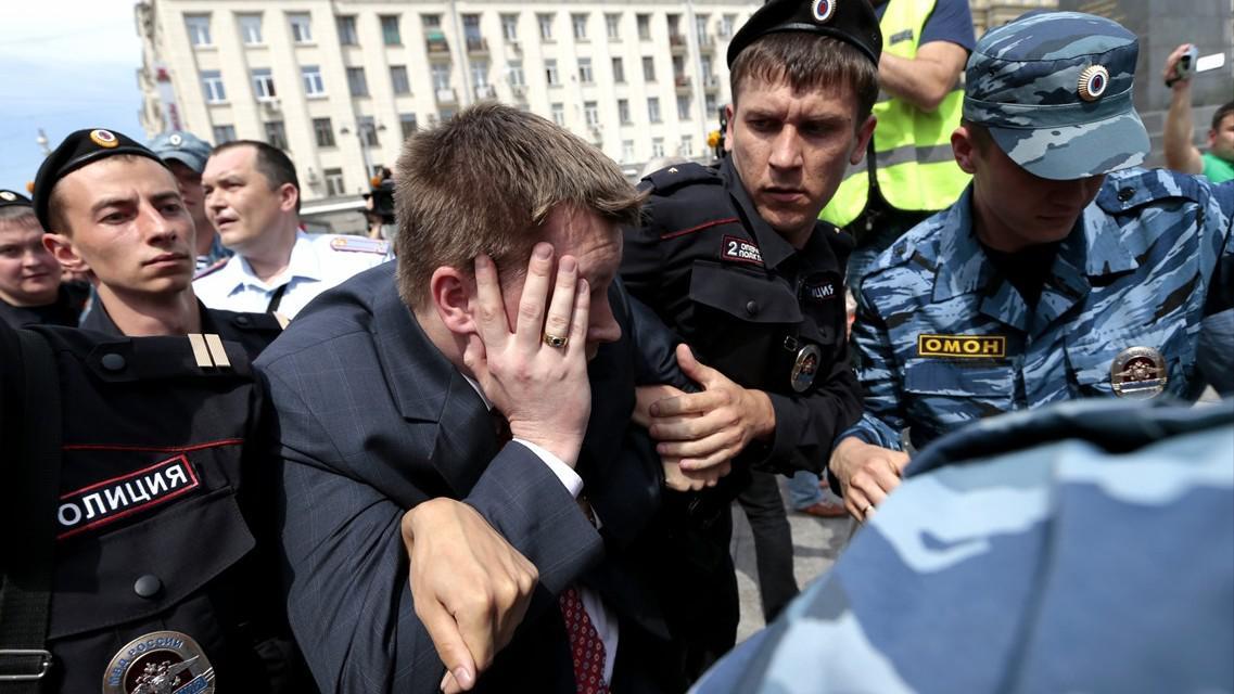 Zadržený Nikolaj Alexejev