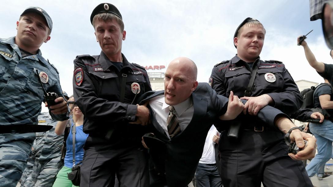 Zadržený Jurij Gavrikov
