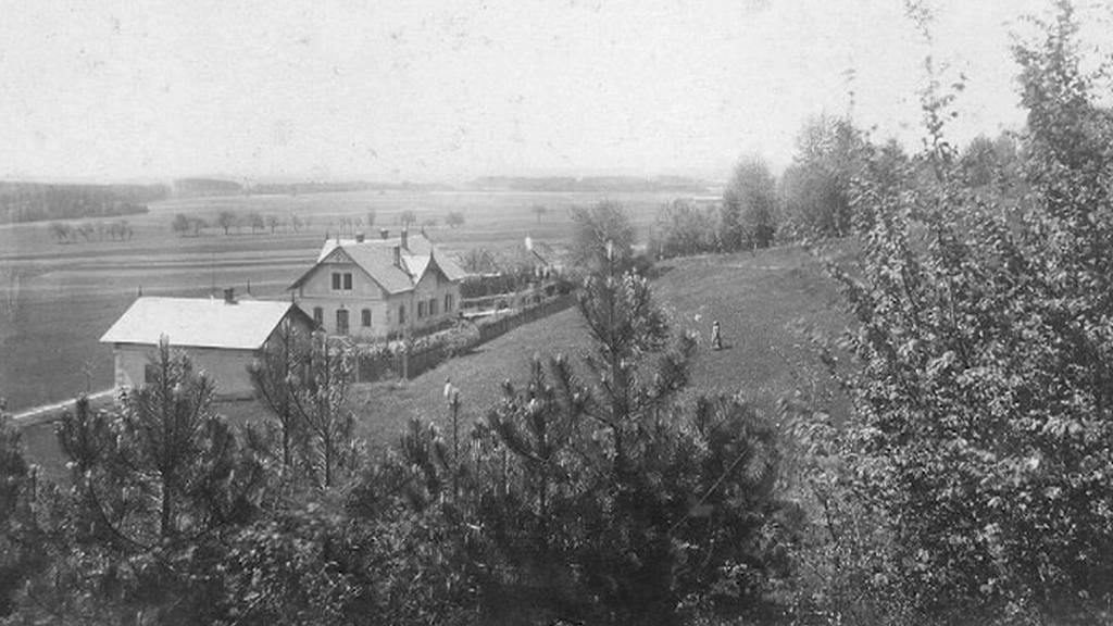 Stará fotografie zámečku