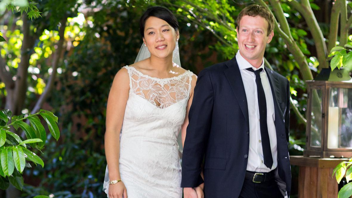 Mark Zuckerberg a Priscilla Chanová