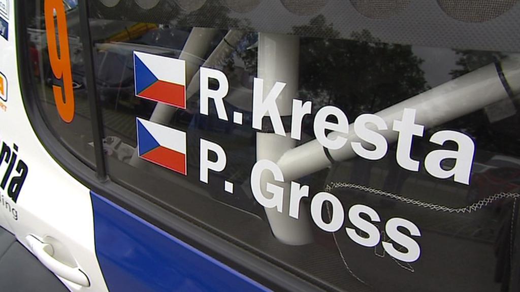 Na českokrumlovské rallye závodí i Roman Kresta