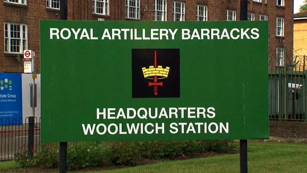 Kasárna ve Woolwichi