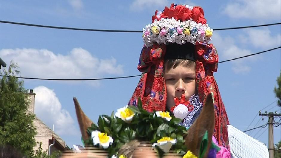 Jízda králů ve Vlčnově 2012