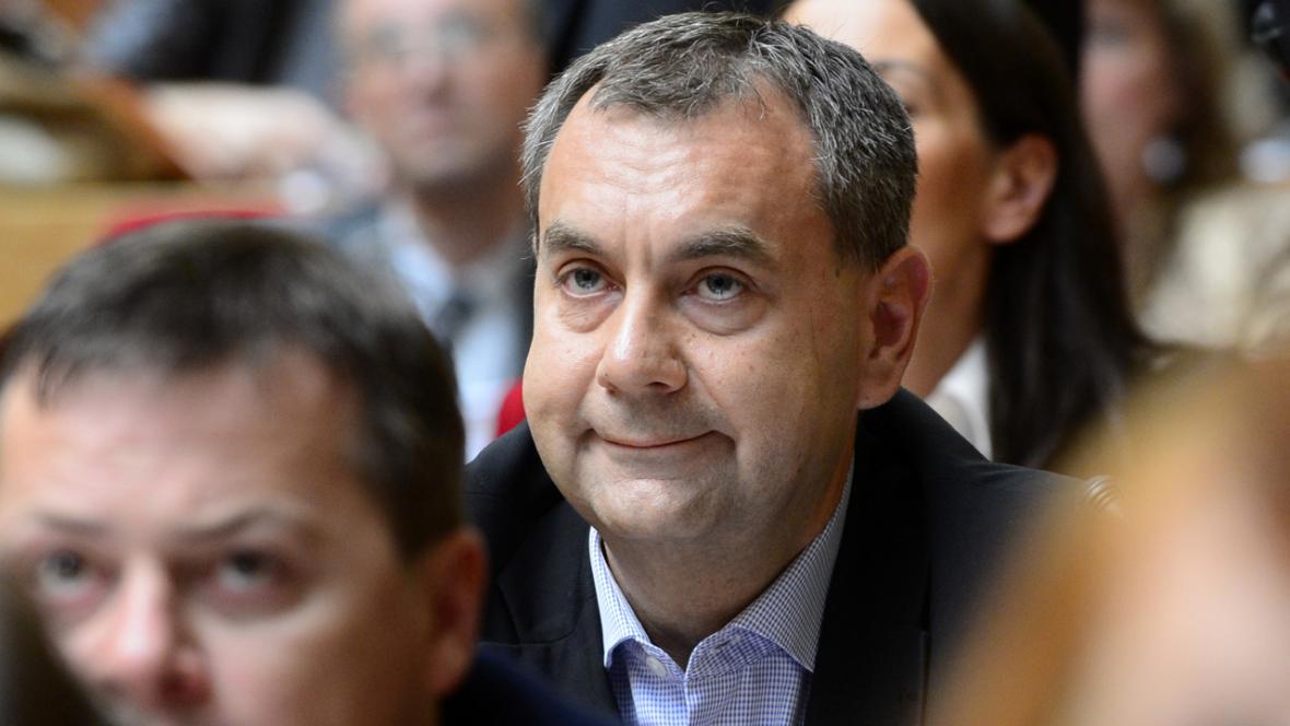 Josef Nosek (ODS) na pražském zastupitelstvu