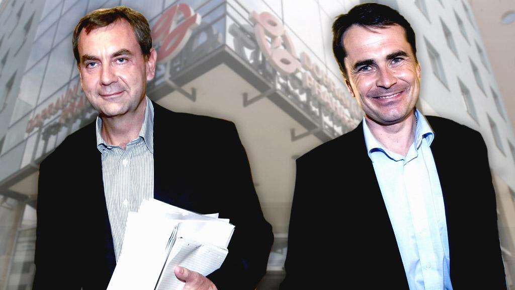 Josef Nosek a David Vodrážka