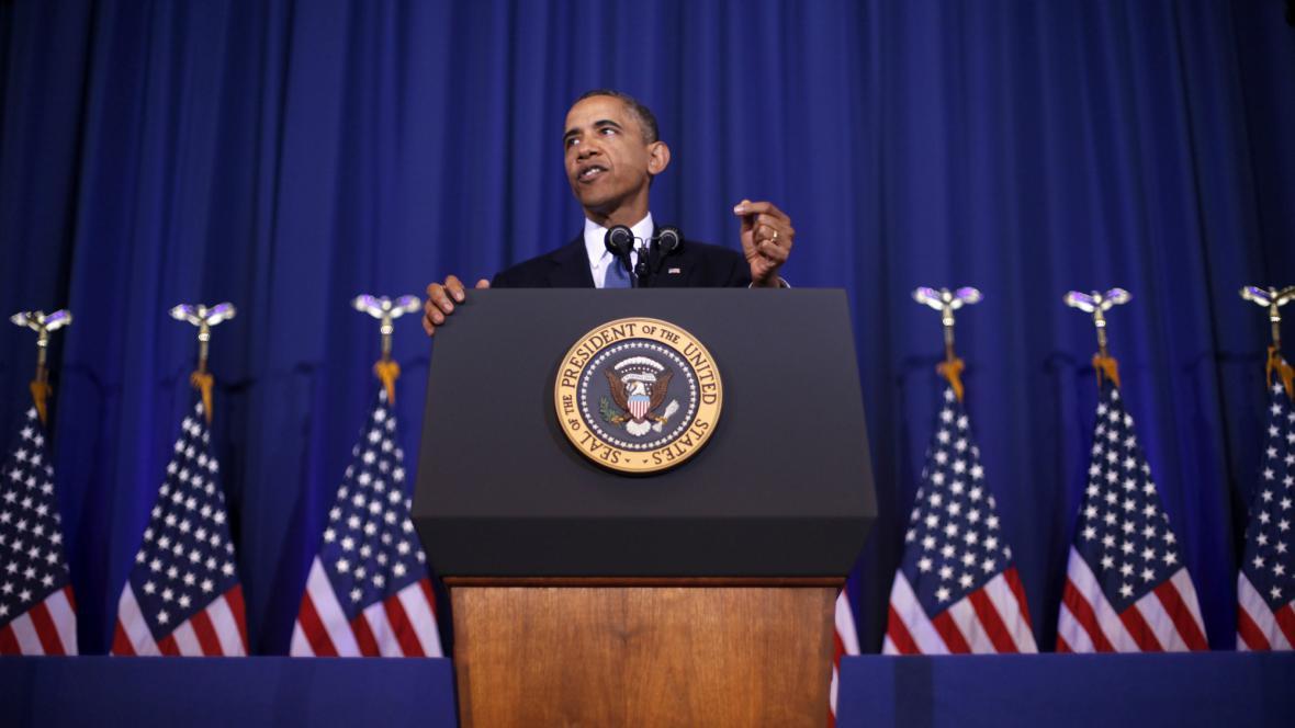 Barack Obama představil nový způsob boje proti terorismu