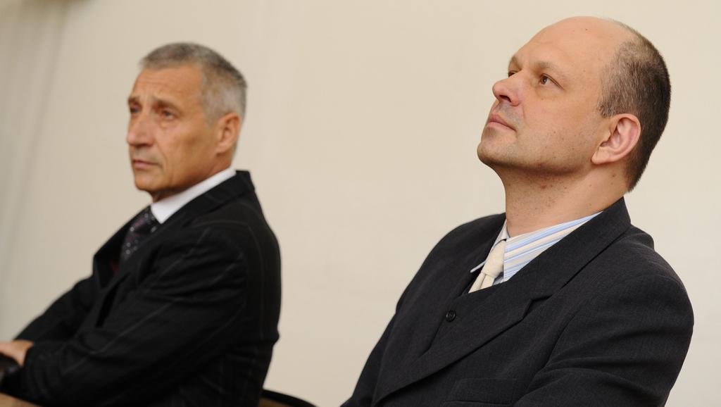 Z trojice bývalých studentů se dostavil pouze Martin Laštovička (vpravo)