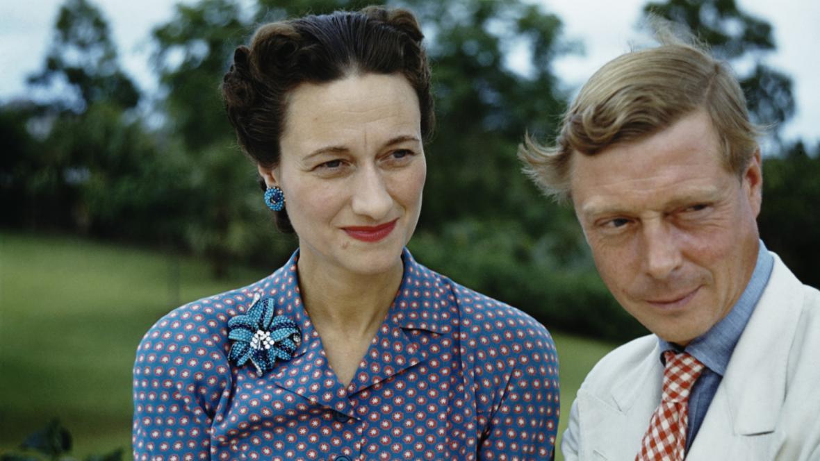 Wallis Simpsonová a Eduard