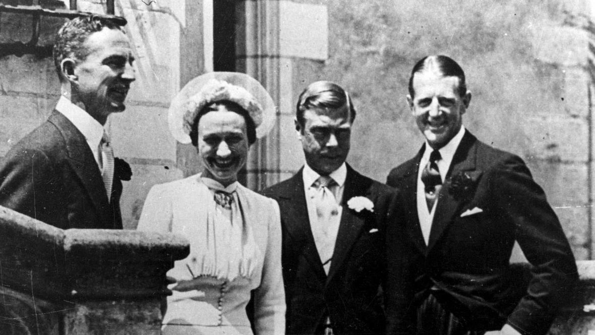 Svatba Wallis Simpsonové s Eduardem, vévodou z Windsoru