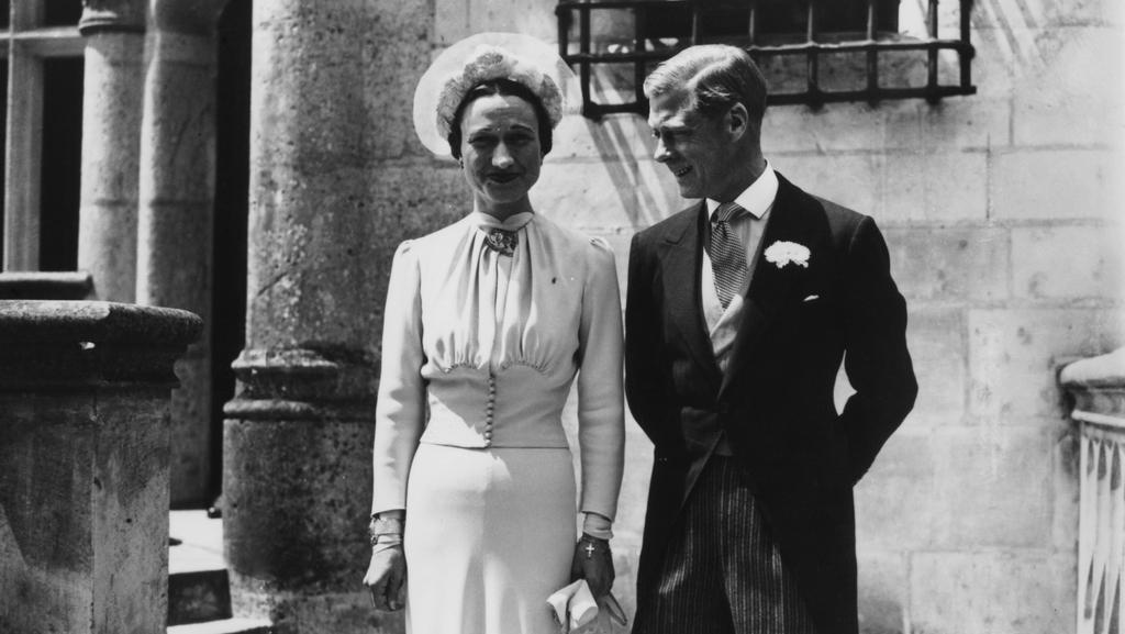 Vévoda a vévodkyně z Windsoru na svatebí fotografii