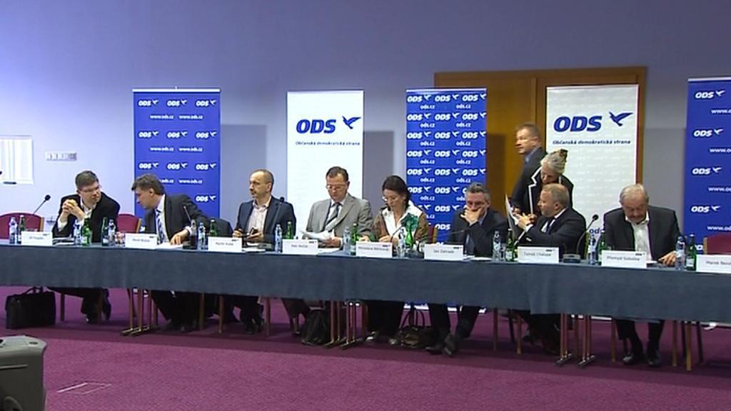 Jednání výkonné rady ODS v Táboře