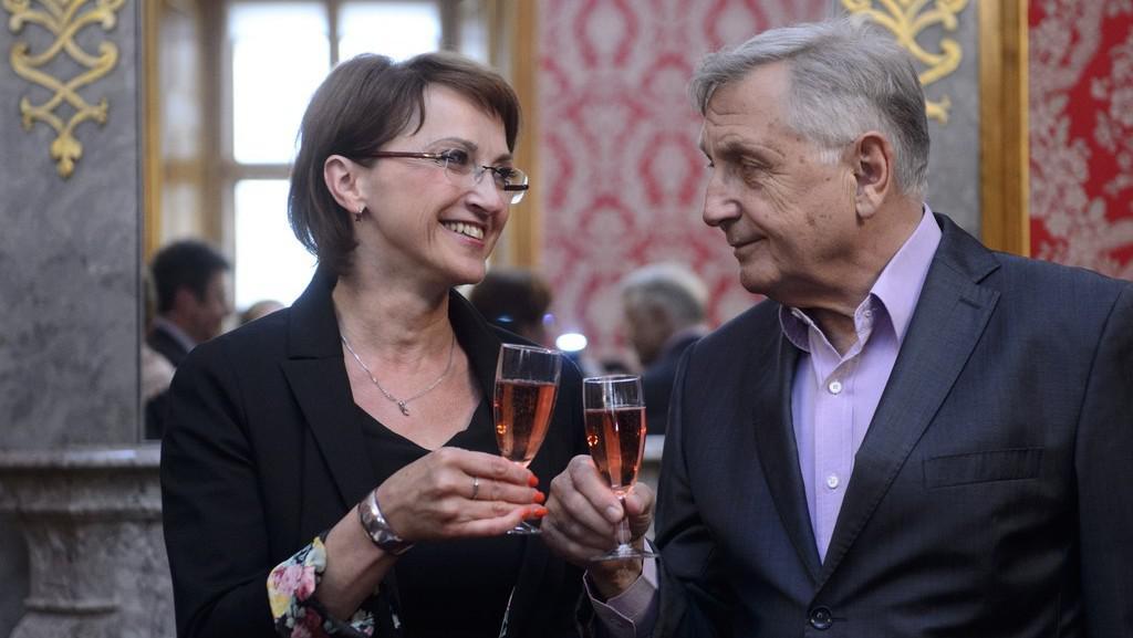 Alena Hanáková a Jiří Menzel