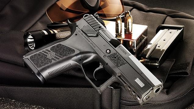 Pistole CZ P-07 Duty