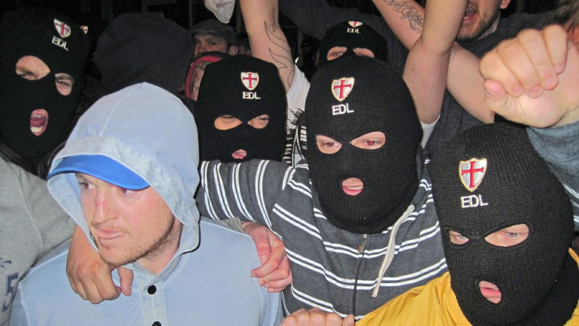 Protest Ligy na obranu Anglie