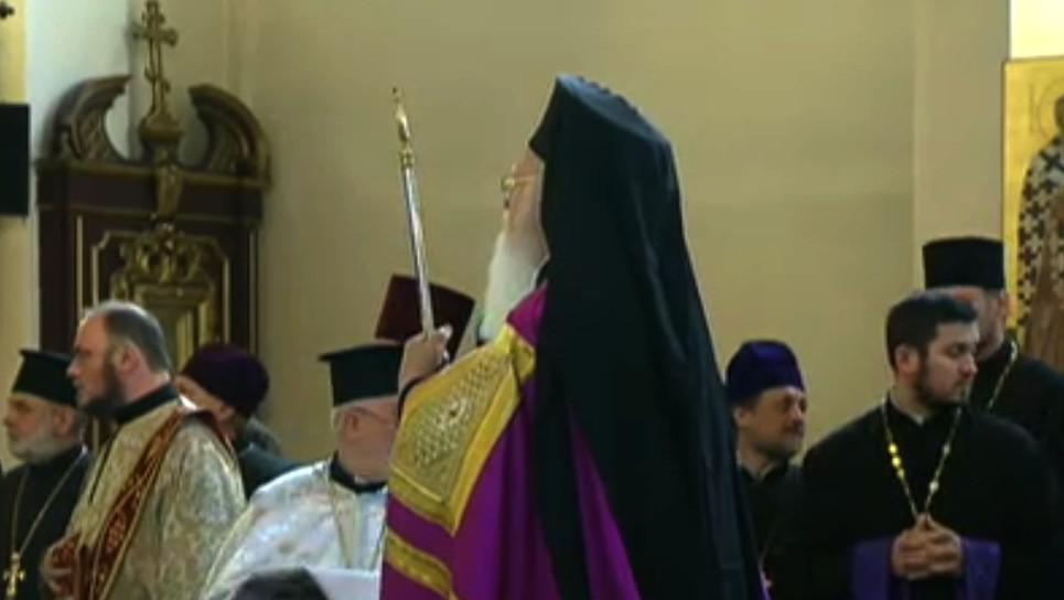 Patriarcha Bartoloměj v Praze