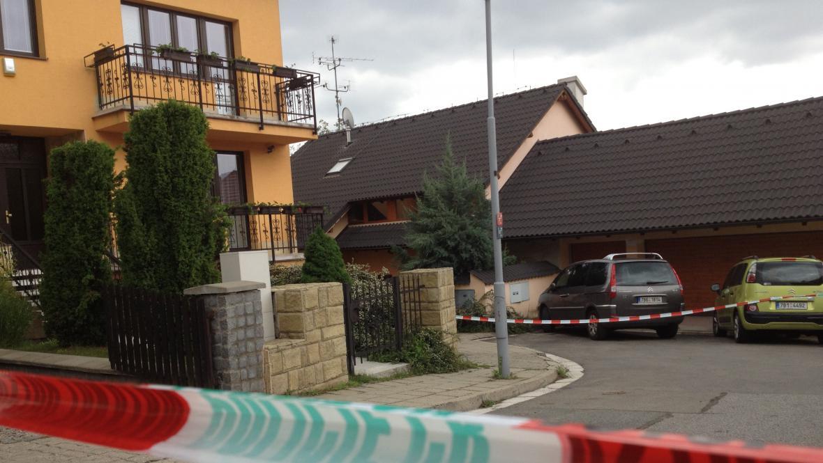 Rodinný dům, kde k vraždám došlo