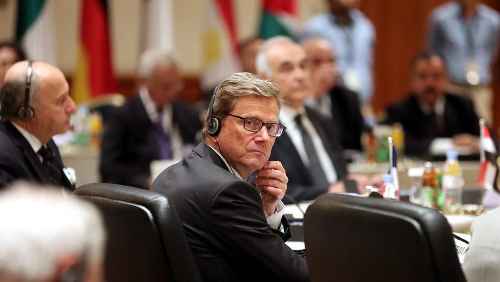 Německý ministr zahraničních věcí Guido Westerwelle