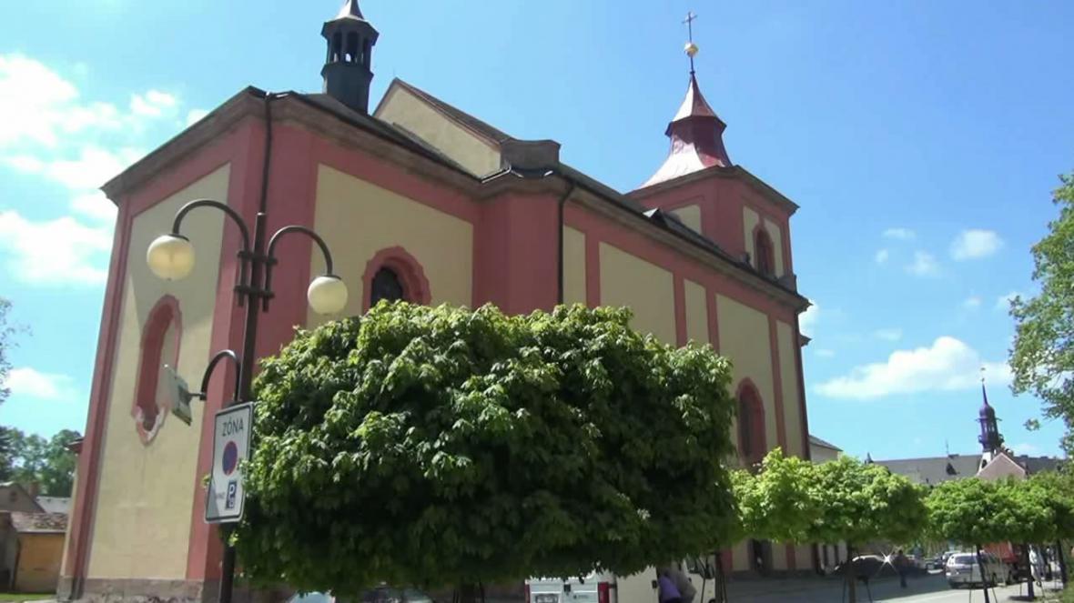 Kostel sv. Vavřince v Jilemnici