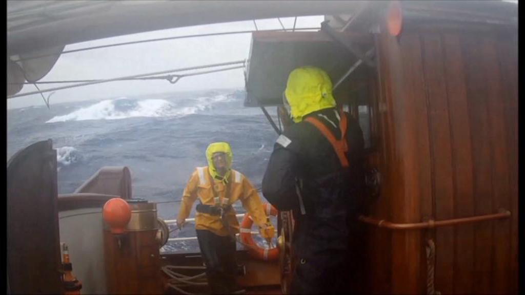 Na lodi po Atlantiku