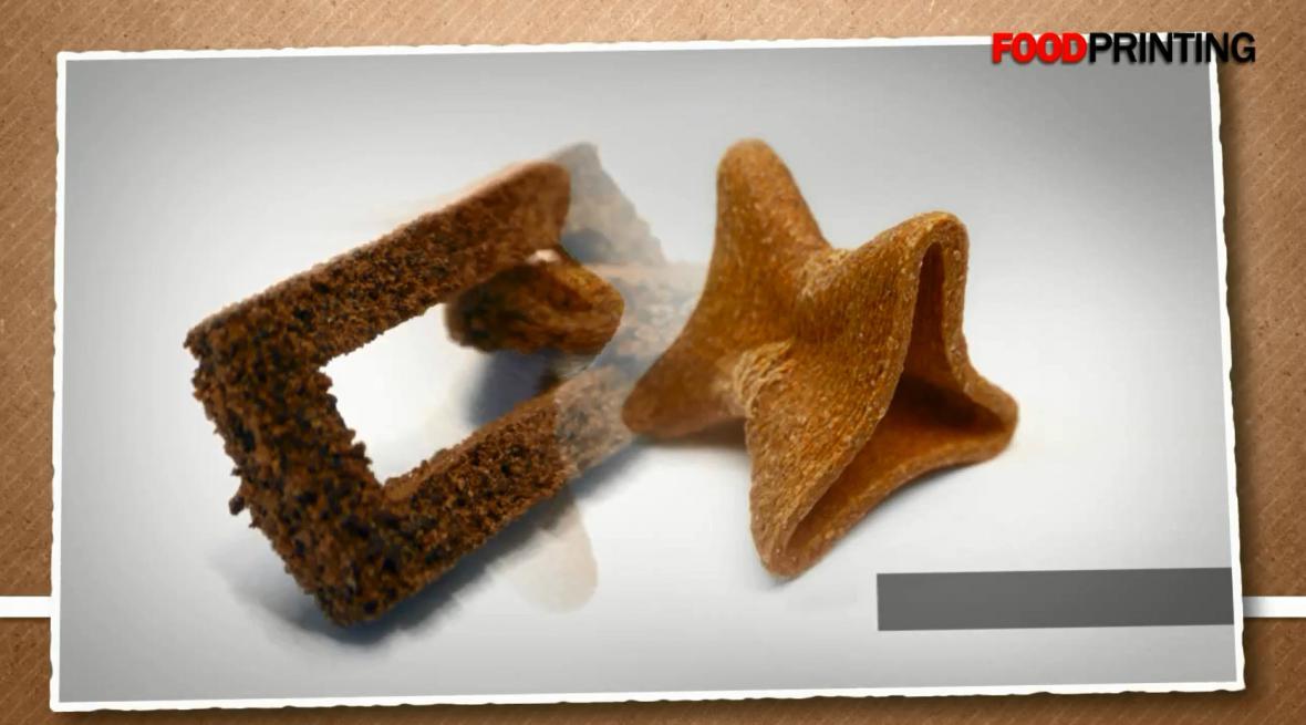 Jídlo z 3D tiskárny