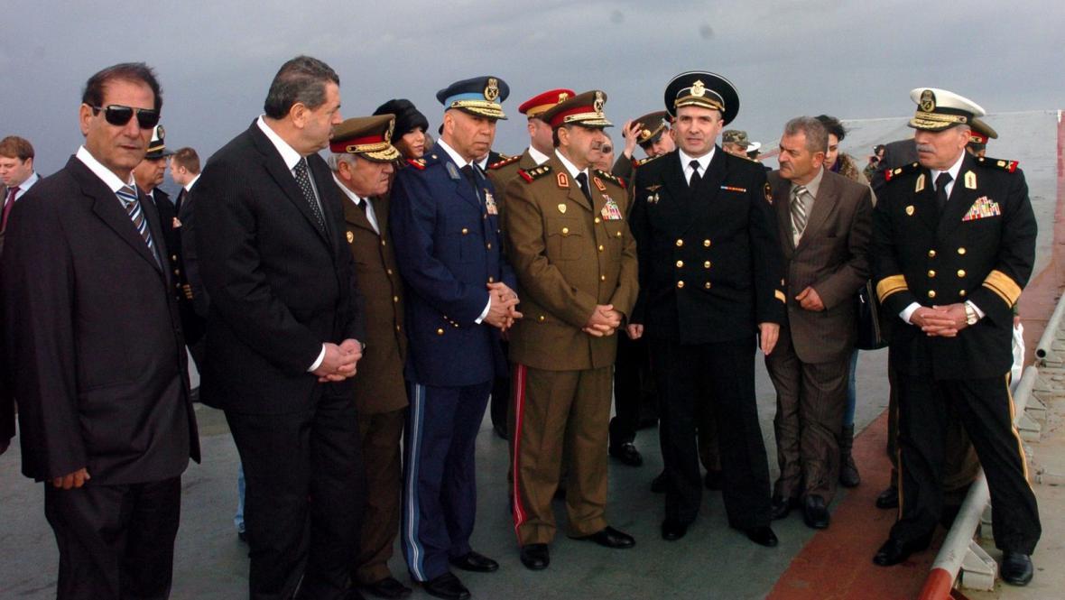 Ruská admiralita v syrském přístavu Tartús
