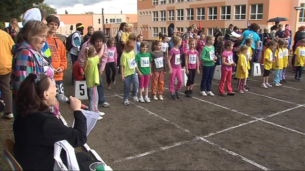 Věra Černá byla patronkou účastníků olympiády