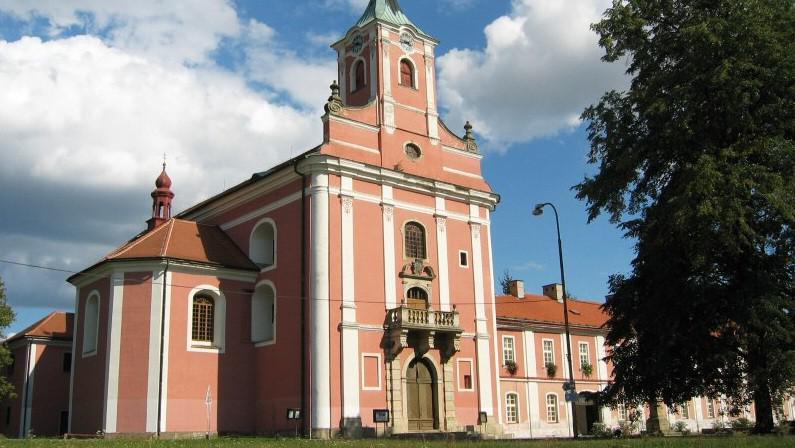 Poutní kostel Narození Panny Marie ve Štípě