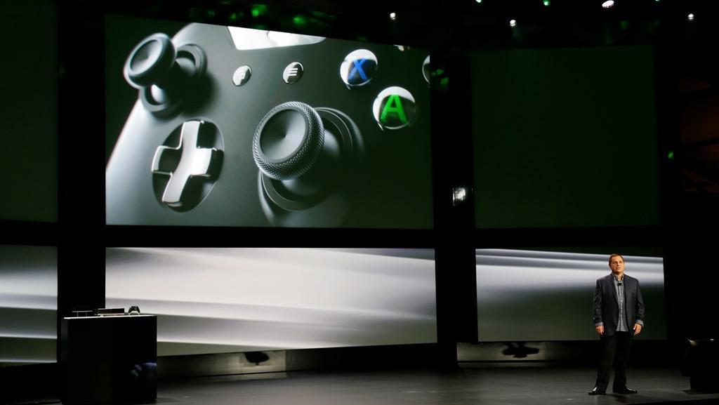 Marc Whitten představuje kontroler pro konzoli Xbox One