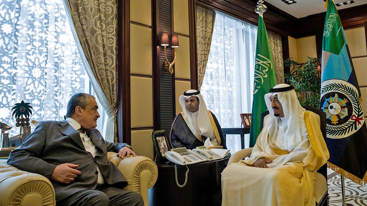 Karel Schwarzenberg na návštěvě Saúdské Arábie