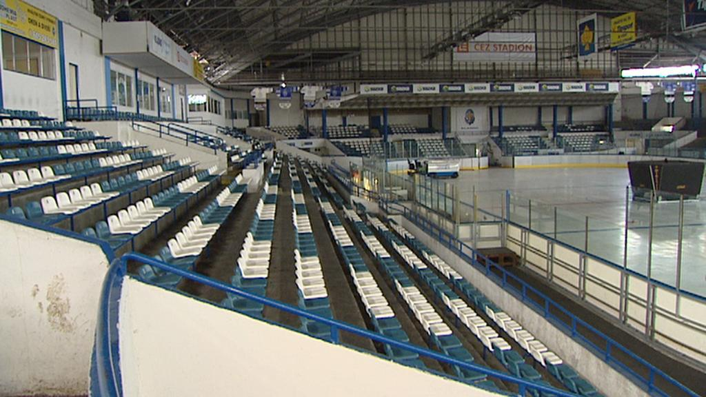 Kladenský hokejový stadion