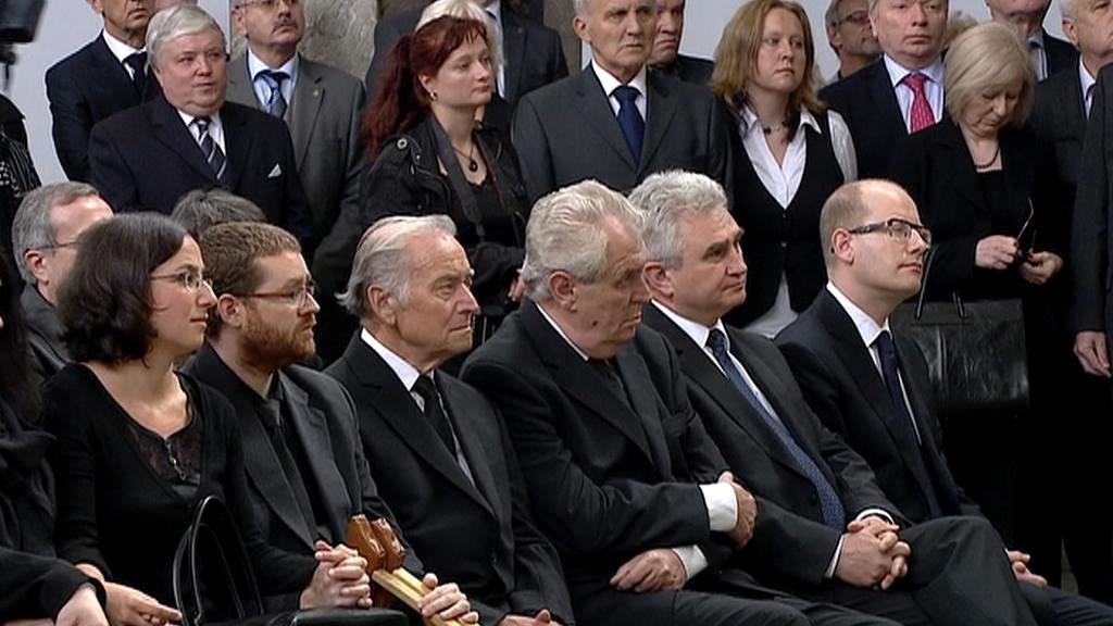 Pohřeb Valtra Komárka