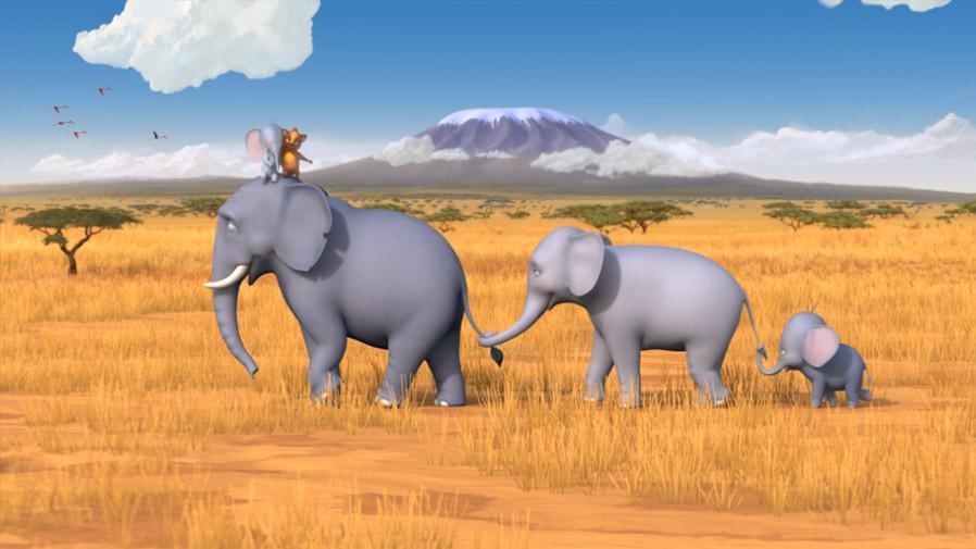 Večerníček Nejmenší slon na světě